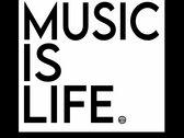 Music Is Life (Black) photo