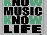 Know Music Know Life (Gray) photo