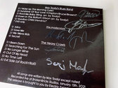 Limited Edition CD+DVD 2in1 signed by all bands' members photo