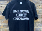 Unknown To The Unknown Classic Logo Tee photo