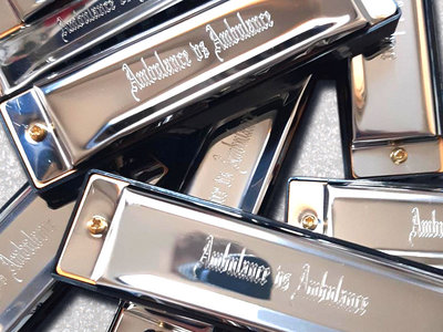 Limited Edition Engraved Harmonica main photo