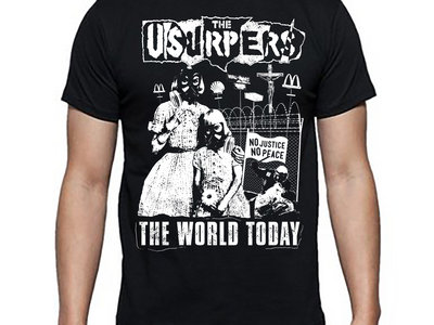 Usurpers 'The World Today' t-shirt