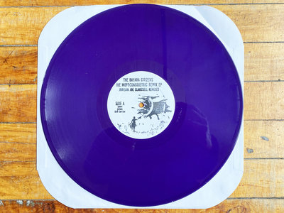 """Repress Alert!!! The Bayara Citizens - Mofo Congoietric EP Remix - 12"""" Purple Colored Vinyl Release - Only 50 Copies available for our Bandcamp customers!! Pre Order Now - Release Date 3.24.21 main photo"""
