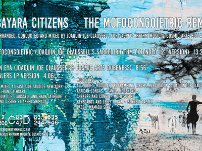 """The Bayara Citizens - Mofo Congoietric EP Remix - 12"""" Yellow Colored Vinyl Release - PRE-ORDER NOW. SHIPPING STARTS 2.25.21. main photo"""