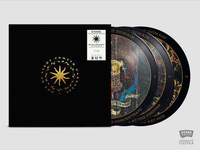 Coil - Love's Secret Domain 3 x Picture Disc Vinyl Set main photo