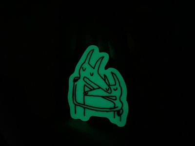 "Glow in the Dark ""Twin Fantasy"" Sticker main photo"