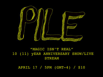Magic Isn't Real 10 yr anniversary show main photo