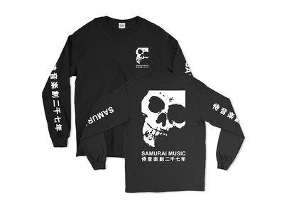 Samurai Music - Double Skull Long Sleeved T Shirt (Ltd Edition) main photo