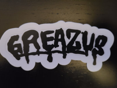 """GREAZUS """"GreazDrip"""" Sticker main photo"""