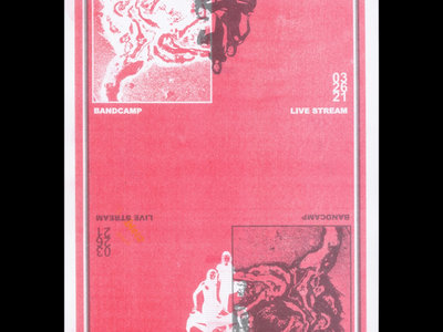 """Limited Edition """"Kevin Haskins Remix"""" Risograph Show Poster main photo"""