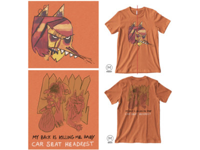 LAST CHANCE: My Back Is Killing Me Baby Tee main photo
