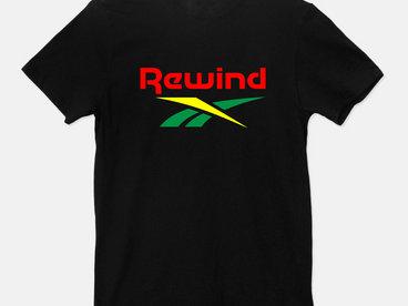 Rewind Logo T-shirt - Black main photo