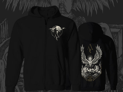 Nymph Of Mother Night Hooded Zip-Front Sweatshirt *PRE-PRDER* main photo