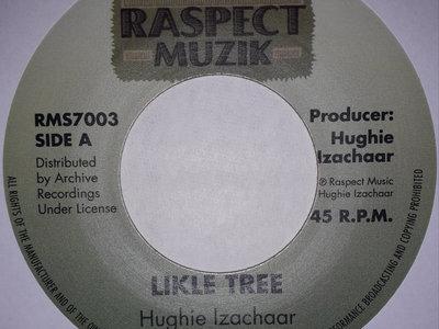 "NEW IN - HUGHIE IZACHAAR - LIKLE TREE 7"" (Raspect Muzik/Archive) Red Vinyl main photo"