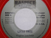 "NEW IN - HUGHIE IZACHAAR - LIKLE TREE 7"" (Raspect Muzik/Archive) Red Vinyl photo"
