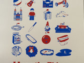 """Limited Edition Screen Printed """"I Love The Things That People Make"""" Poster photo"""