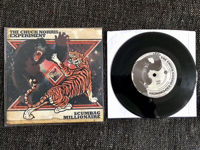 "Chuck Norris Experiment / Scumbag Millionaire - Split 7"" single main photo"