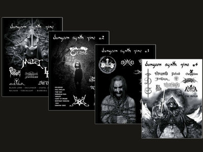 Dungeon Synth Zine Issues 1-4 main photo