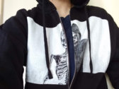 Self-Titled Graphic Zip-Up Hoodie photo
