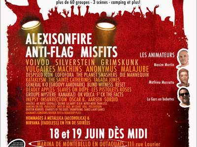 Rockfest 2010 - Affiche originale / Poster Original Print *RARE main photo