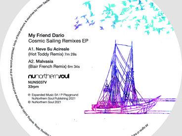 "Limited Edition 12"" vinyl with 'Hints of Ibiza' Sleeve art. main photo"
