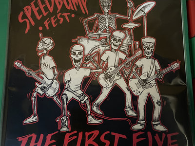 Distro LP - Speedbump Fest - The First Five LP main photo