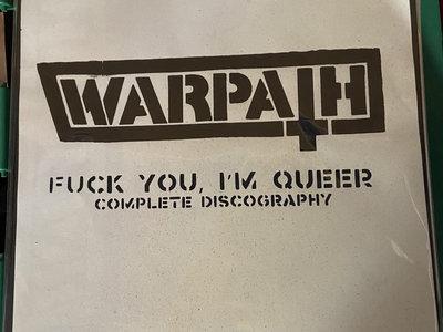 Distro LP - Warpath - Fuck You I'm Queer discography main photo