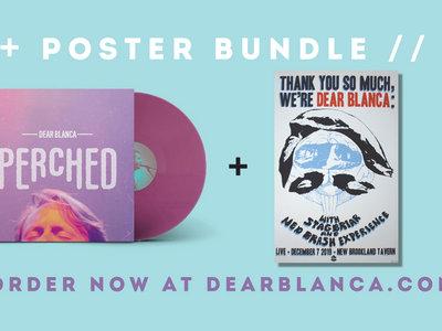 Poster + 'Perched' LP Bundle main photo