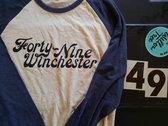 Forty Nine 3/4 Sleeve Raglan Tee photo