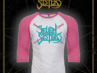 Pink Monstrosity - Raglan 3/4 Sleeve T-Shirt main photo