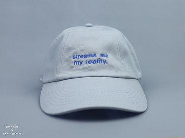Streams Are My Reality | Cap Grey main photo