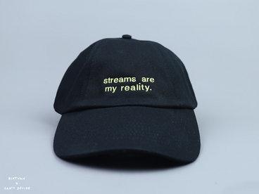 Streams Are My Reality | Cap Black main photo