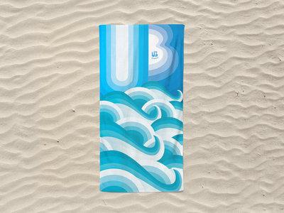 U3 IN WAVES BEACH TOWEL main photo