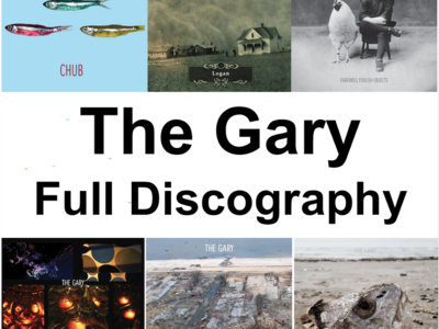 """The Gary - Full Discography (four 12"""" records & two CDs) main photo"""