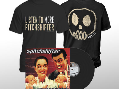 """Pitchshifter - 'www.pitchshifter.com' (Limited 12"""" Black Vinyl) +  T-Shirt main photo"""
