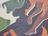 """Mothering Myself"" Set of 4 Small Fine Art Prints photo"