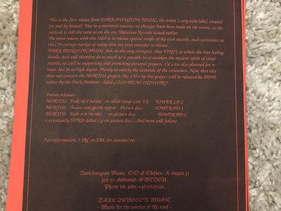 1995 Født til å Herske LP insert main photo