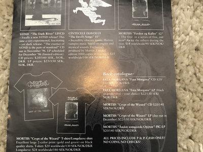 Dark Dungeon Music 1996 flyer main photo