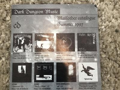 Dark Dungeon Music 1997 promo flyer main photo