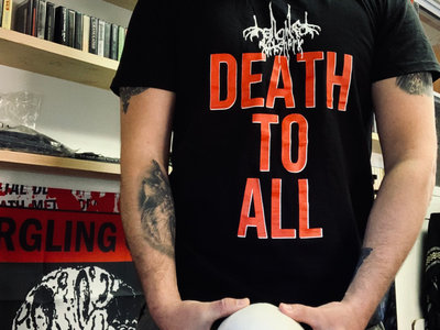 """Death To All"" T-Shirt (Death Scream Recordings) main photo"