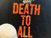 """""""Death To All"""" T-Shirt (Death Scream Recordings) photo"""