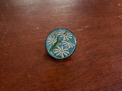 Lizard Enamel Pin with Rubber Backing main photo