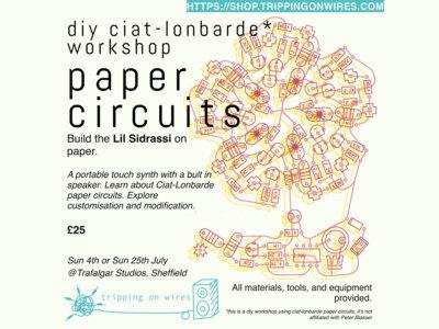 Paper Circuits Workshop [DIY Ciat-Lonbarde Lil Sidrassi] main photo