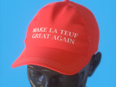 """MAKE LA TEUF GREAT AGAIN"" Cap photo"