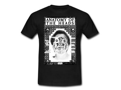 """""""Heads"""" Limited Edition Shirt (black & white) + Download main photo"""