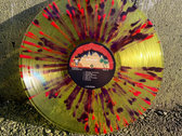 """Lp McRackins """"Eggs Alive! In Italy"""" [tears are falling splatter edition] photo"""