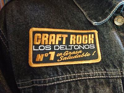 Parche Bordado. Los Deltonos / Craft Rock main photo