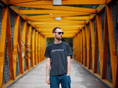 Dark Heather Greyscale T-Shirt photo