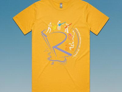 Island Sketch T-Shirt - Yellow main photo