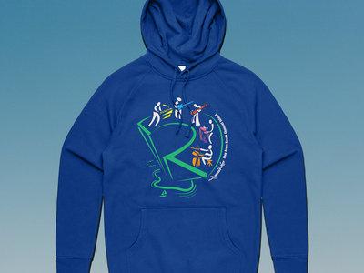 Island Sketch Hoodie - Bright Royal Blue main photo
